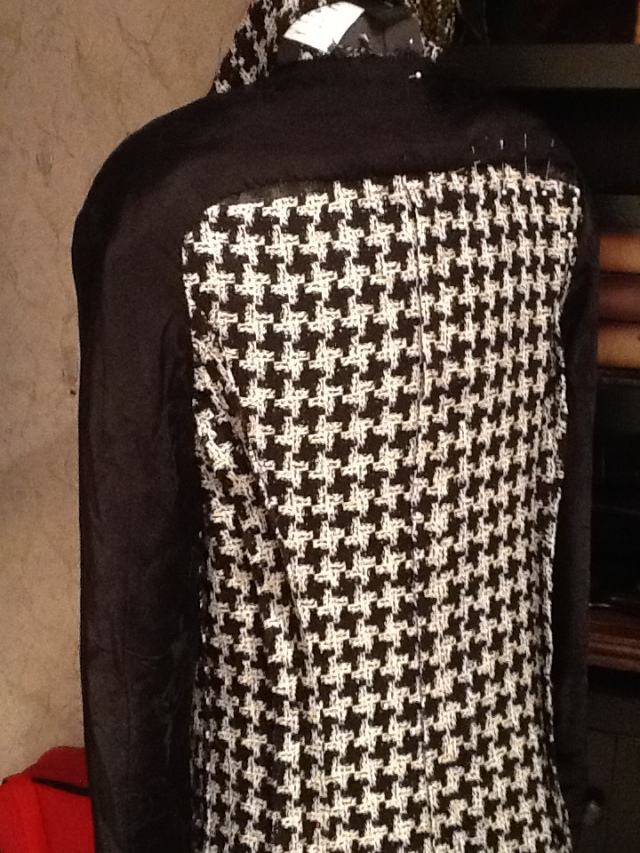 Chanel Plaid Unlined Jacket