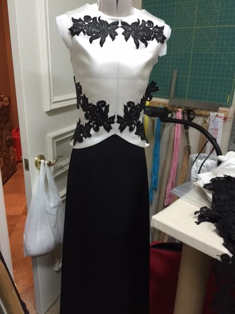 b&w gown 1