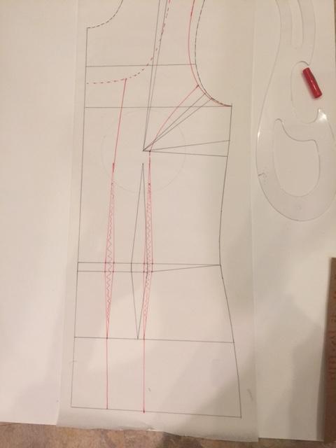 seam lines