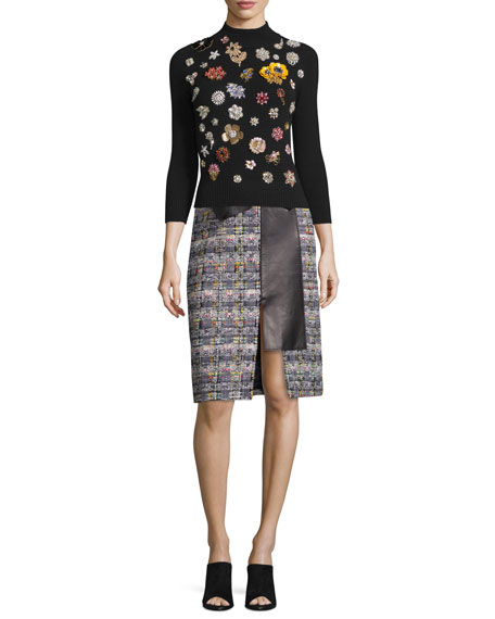 mcqueenblacksweaterandskirt
