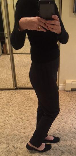 Pants side