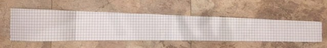 sloped graph paper