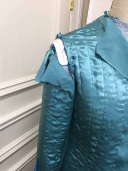 Jacket inside out